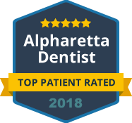 2018 Top Patient Rated Alpharetta Dentist