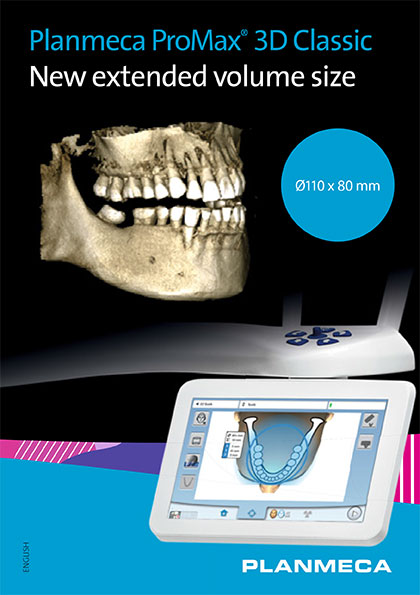 Planmeca ProMax® 3D Classic New extended volume size