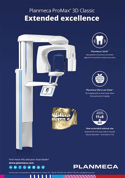 Planmeca ProMax® 3D Classic Extended excellence