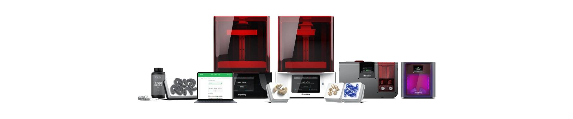 Sprintray 3D Printers and Accessories